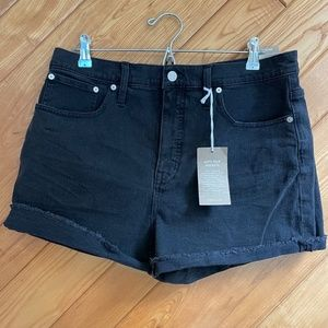 Madewell High Rise Denim Shorts (New With Tags)